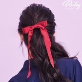 髮飾 雙層蝴蝶結彈簧髮夾-Ruby s 露比午茶