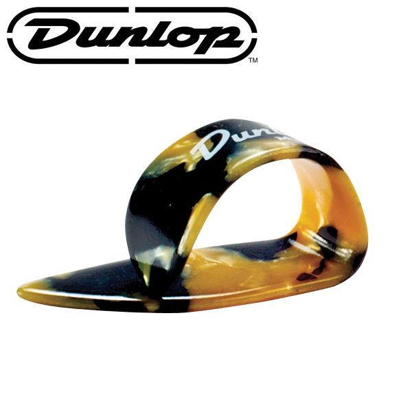 【非凡樂器】Dunlop Heavies Thumbpicks 琥珀黑黃拇指套/Pick