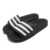 adidas 拖鞋 Adilette Boost 黑 白 男鞋 女鞋 三條線 避震鞋底 男女款 【ACS】 FY8154