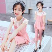 618好康又一發女童夏季套裝2018新款中大童兒童時尚兩件套洋氣正韓9潮衣10-12歲
