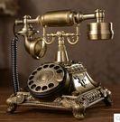 設計師美術精品館歐式仿古電話機 復古轉盤...