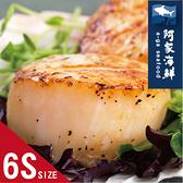 【阿家海鮮】北海道/生食級干貝/1Kg/包/6S(約81~100顆)