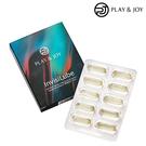 Play&joy 隱形膠囊矽性潤滑液 10入 (台灣製)
