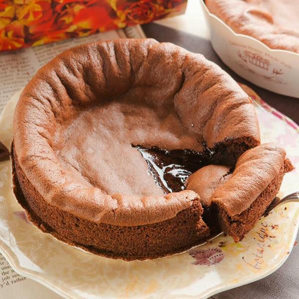 【拉提莎】6吋★經典蜂蜜半熟凹+巧克力半熟凹蛋糕 共2入