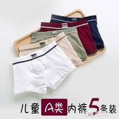 男童內褲純棉中大童短褲12寶寶內褲兒童內褲平角青少年四角褲全棉『艾麗花園』