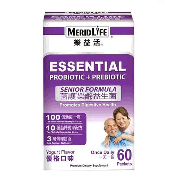 [COSCO代購] W397716 MeridLife樂益活 菌護樂齡益生菌 2公克 X 60 包