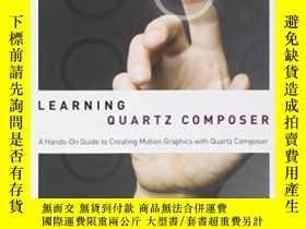 二手書博民逛書店Real-time罕見Motion Graphics With Quartz ComposerY256260