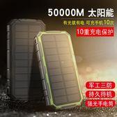 太陽能行動電源三防大容量20000毫安手機通用便攜蘋果Xoppo小米vivo華為移動電源『小宅妮時尚』