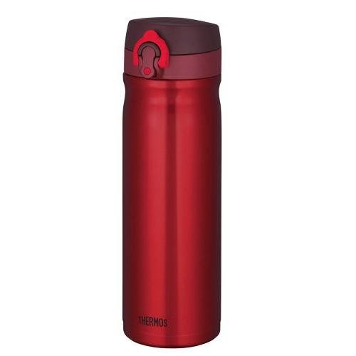 THERMOS 膳魔師 不銹鋼真空保溫杯0.5L JMY-500-CSS 紅色
