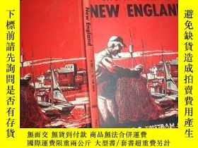 二手書博民逛書店LIFE罕見IN AMERICA:NEW ENGLAND-by ROBERT P. TRISTRAM COFFIN