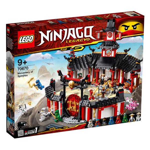 LEGO樂高 旋風忍者系列 70670 旋風忍術修道院 積木 玩具