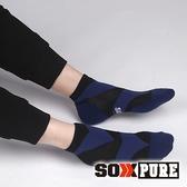 【SOXPURE】男 極速快乾機能襪『黑色』SP1004 露營.戶外.登山.保暖襪.彈性襪.休閒襪.襪子