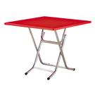 【森可家居】紅色3尺折桌 9SB389-1 商用 小吃店 餐廳