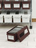cd收納盒 家用dvd收納碟片光碟盒日本漫畫專輯整理 ps4收納箱WD  初語生活館