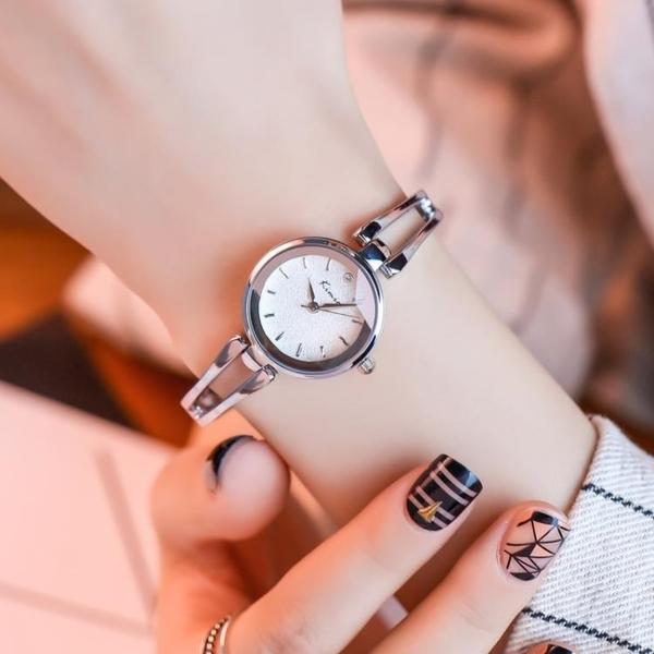 正品手錬手錶韓版女學生簡約手鐲錶潮流時尚女士腕錶禮物 漾美眉韓衣
