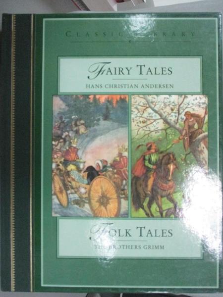【書寶二手書T5/少年童書_XAO】Double Classics Fairy Tales / Folk Tales_Hans Christian Andersen, Brothers Grimm