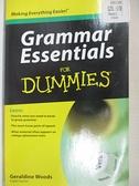 【書寶二手書T1/原文書_BZM】Grammar Essentials for Dummies_Woods