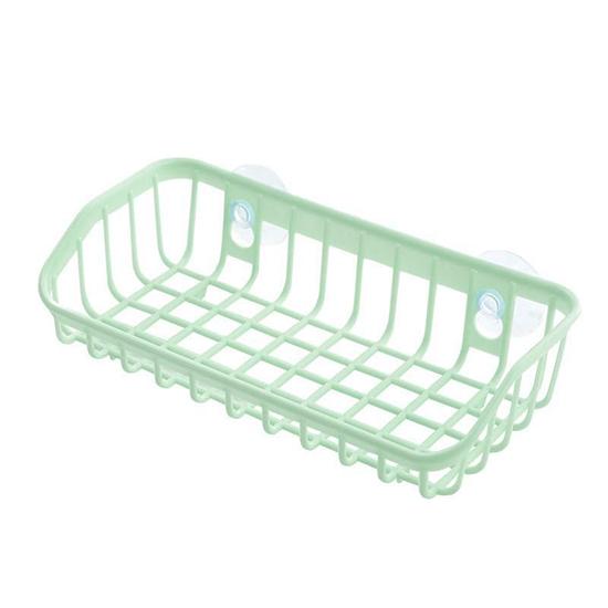 收納掛籃 菜瓜布架 水槽架 肥皂架 洗碗海綿 餐具 可掛 抹布 文具 雙吸盤瀝水籃 【Z014】MY COLOR