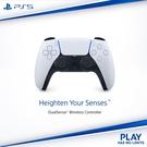 [哈GAME族]免運費 可刷卡 公司貨 保固一年 PS5 DualSense 無線控制器 白色 科技感十足手把