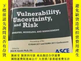 二手書博民逛書店Vulnerability,Uncertainty,and罕見RisK脆弱性 不確定性和風險Y310981 V