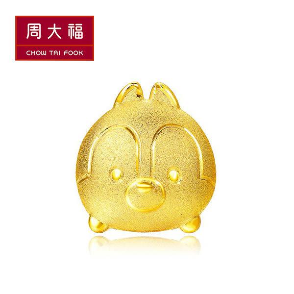 奇奇黃金耳環(單支) 周大福 TSUM TSUM系列