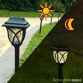 新款太陽能草坪燈戶外防水庭院裝飾草地燈LED地插燈2個裝 開春特惠 YTL