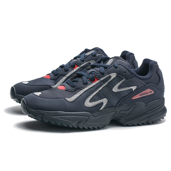ADIDAS YUNG-96 Chasm Trail 黑麂皮 灰 紅 粉 休閒鞋 男 (布魯克林) EE7242