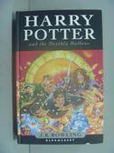 【書寶二手書T6/一般小說_LIF】Harry Potter and the Deathly Hallows_J.K.R