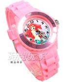Disney 迪士尼 時尚卡通手錶 小美人魚 兒童手錶 數字女錶 D2353美人魚粉