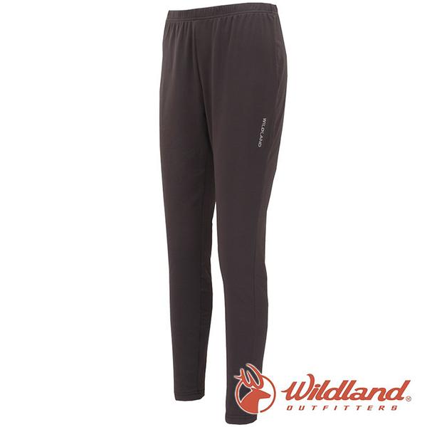 【wildland 荒野】中性 遠紅外線九分褲『深灰』W2658 戶外 休閒 運動褲 冬季 保暖 禦寒 內著