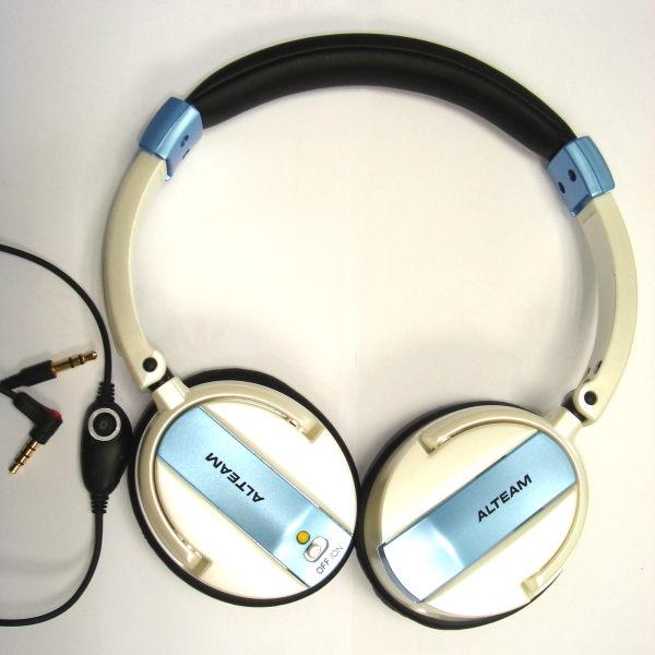 ALTEAM 亞立田 ANC-786 頭戴耳罩式 主動抗噪耳機 主動式 自動式 抗噪 線控麥克風
