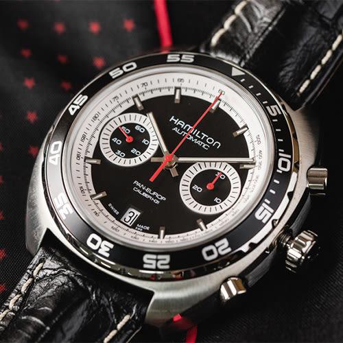 HAMILTON 漢米爾頓 AMERICAN CLASSIC 俯瞰世界經典機械皮革腕錶 H35756735 熱賣中!