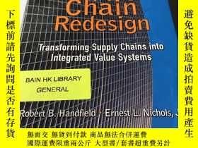 二手書博民逛書店supply罕見chain redesignY218789