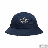 ADIDAS 漁夫帽 SPORT BELL BUCK 海軍藍 雙面-GN2255