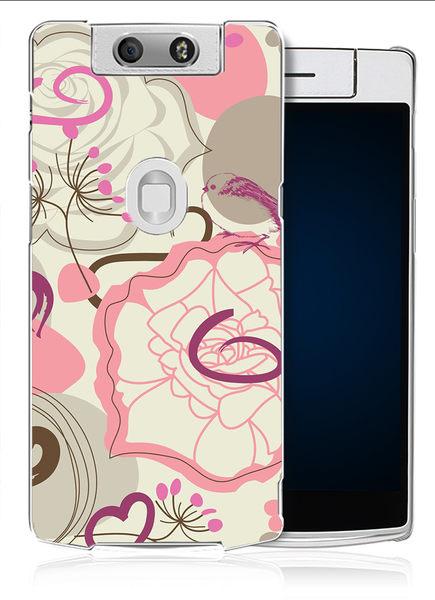 ✿ 3C膜露露 ✿【粉紅圈圈*水晶硬殼】OPPO N3手機殼 手機套 保護套 保護殼