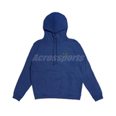 Nike 長袖T恤 Pullover Hoodie LeBron 藍 綠 男款 帽T James 運動休閒【ACS】 CK6767-490