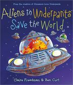 【麥克書店】ALIENS IN UNDERPANTS SAVE THE WORLD  /英文繪本附CD