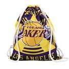 籃球包 湖人隊籃球袋子背包籃球包訓練包雙肩收納包束口大容量雄鹿隊籃網 薇薇