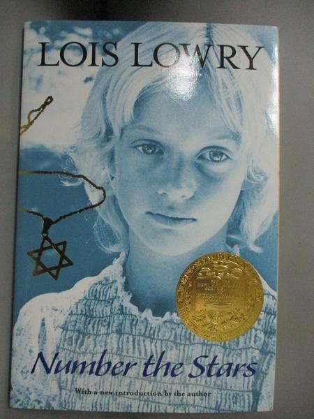 【書寶二手書T1/原文小說_IPI】Number the Stars _Lowry, Lois