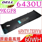DELL 電池(原廠最高規)-戴爾 6430U,E6430U,9KGF8,7HRJW,7HTJW,RGR3V,TRM4D,XX1D1,6FNTV,7XHVM,312-1425
