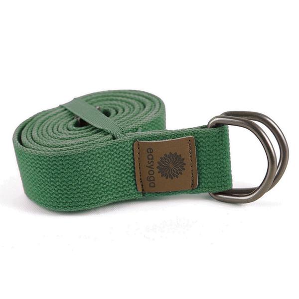 easyoga 瑜珈繩 瑜珈伸展帶 180cm - 綠色
