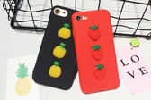 三個水果 三星 Galaxy J8(2018)/A6+/A8Star手機套 手機殼 軟套