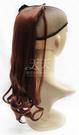 【頭髮增長】002綁式(一片)微捲假髮片 50cm 35號 [28555]