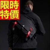 尼龍側背包-造型可肩背百搭學院風男女郵差包3色57b6【巴黎精品】