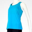 女款運動機能背心 藍色