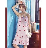 新年85折購 睡衣吊帶睡衣女夏季棉質可愛學生正韓寬鬆加大清新夏天性感睡裙可外穿
