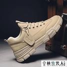 馬丁靴2020秋季新款復古英倫百搭工裝男靴子韓版潮流男士休閒皮鞋『極致男人』