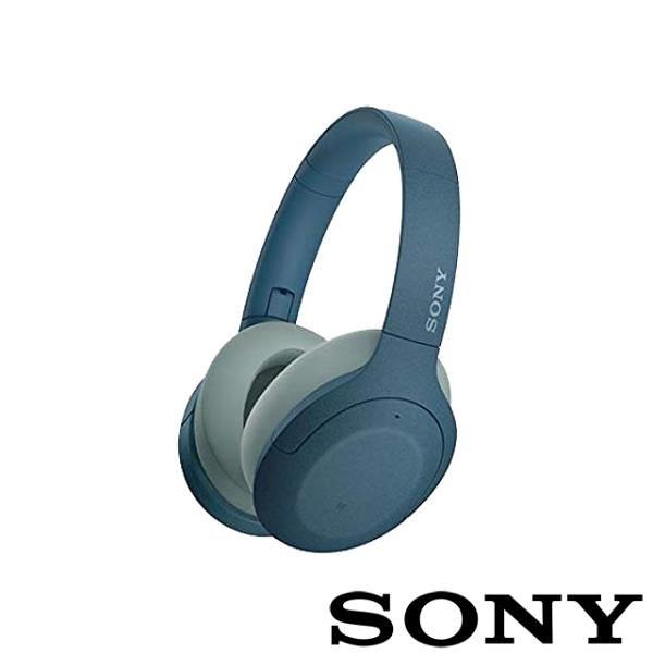 【南紡購物中心】SONY WH-H910N 無線藍牙降噪耳機-藍色