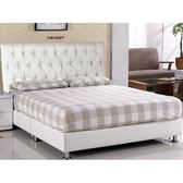 皮床 布床架 SB-082-3 杰米5尺鐵灰布雙人床(不含床墊及床上用品)【大眾家居舘】