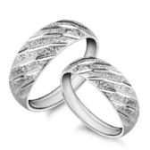 氣質情侶女鍍銀戒指手飾流星雨韓版男女 時尚女戒指對戒《小師妹》ps541